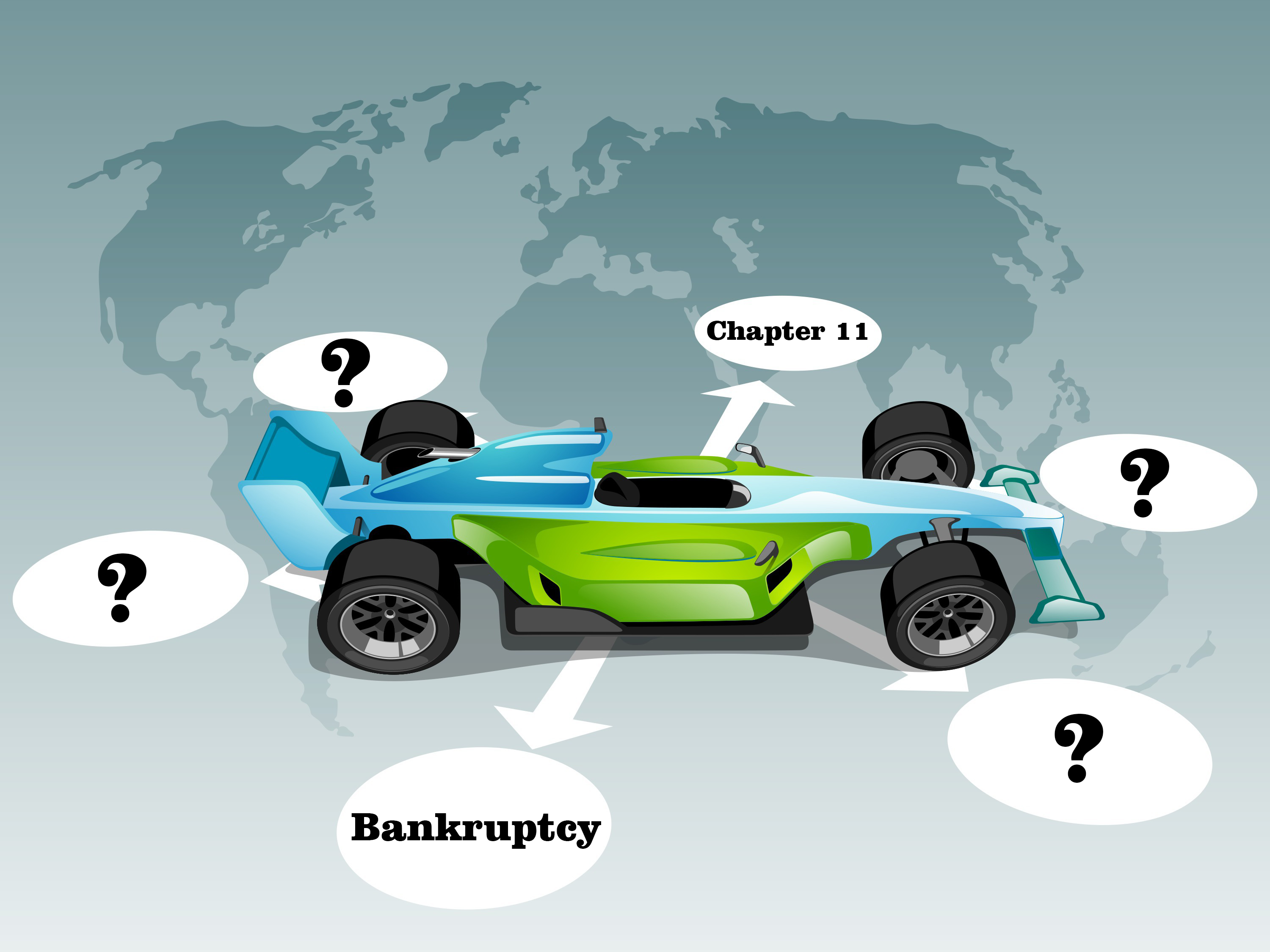 How Chapter 11 helped in Formula one