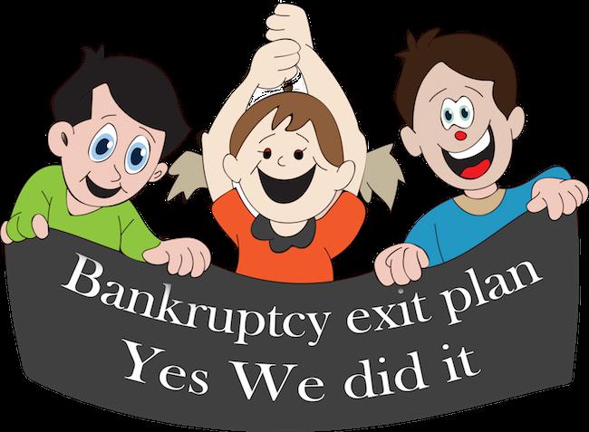 Stockton exit imposed losses on bondholders