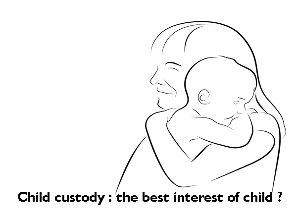 Custody of Child during Divorce