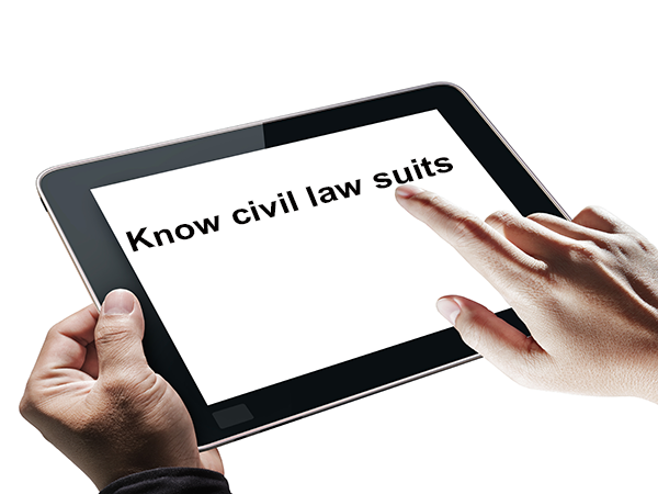 Know Civil lawsuits to avoid them