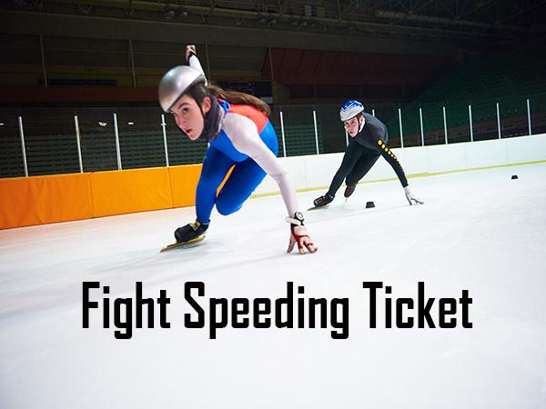 fight speeding ticket
