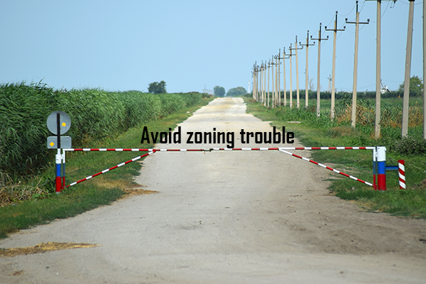 Zoning laws – Avoid Zoning trouble
