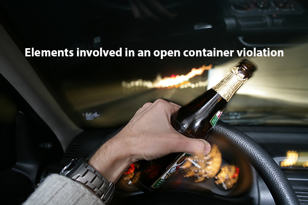 Open container violation