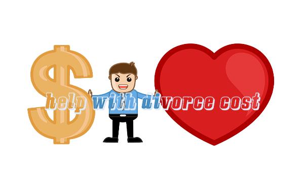 Help with divorce cost