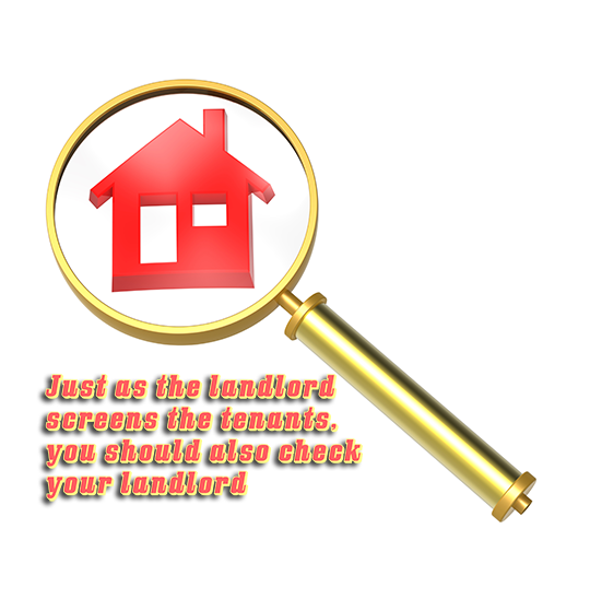 How to check your landlord?