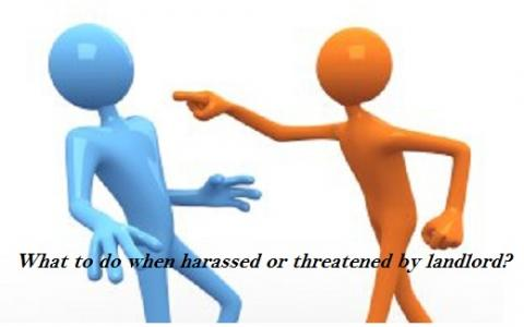 What to do when your landlord harassed or threatened you