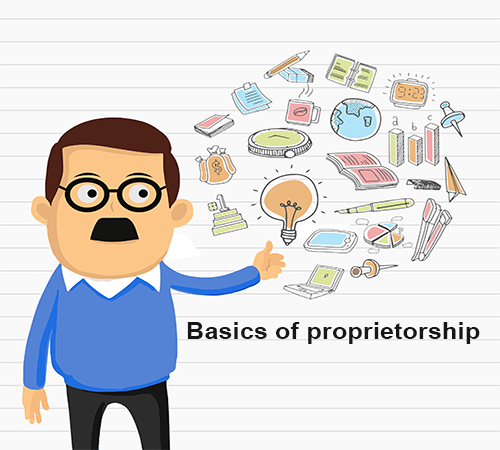 Basics for Sole Proprietorship