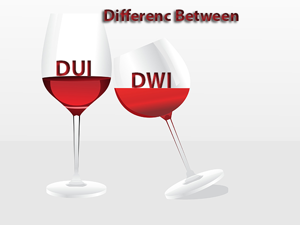Difference Between DUI and DWI?