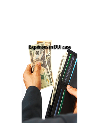 Expenses in a DUI case