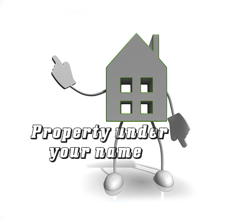 Why should you buy investment property under your own name?