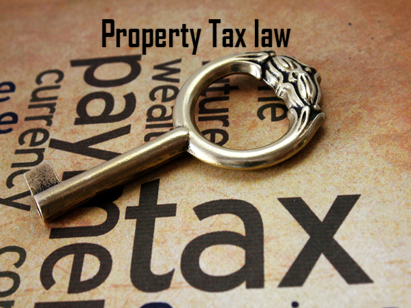 Property tax law