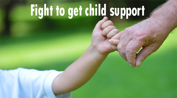 Fight To Get Full Child Support