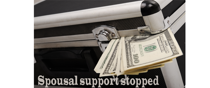 Stopping Spousal Support