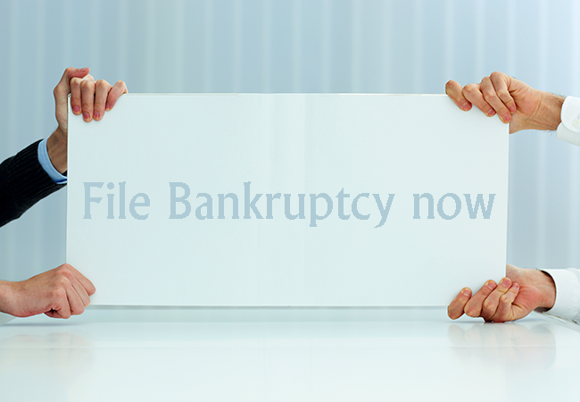 File Bankruptcy