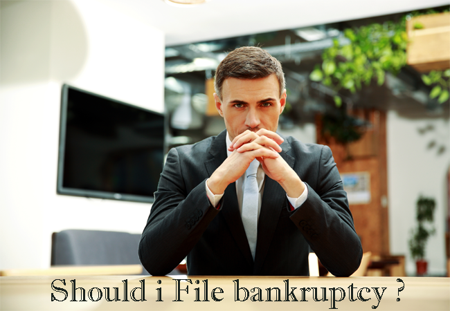 Filing For Bankruptcy Due To Financial Difficulties